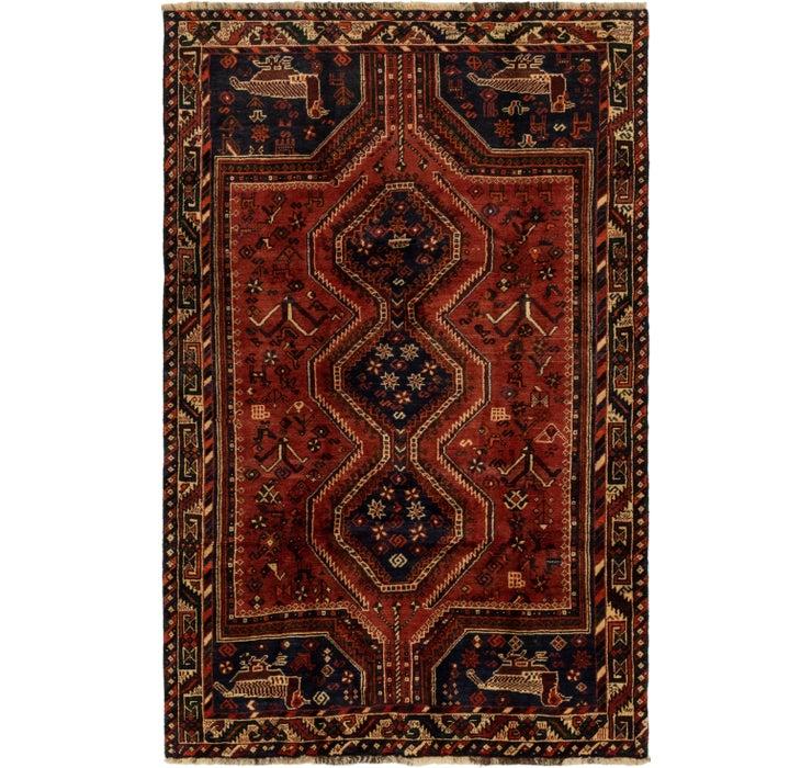 4' 8 x 7' 7 Ghashghaei Persian Rug