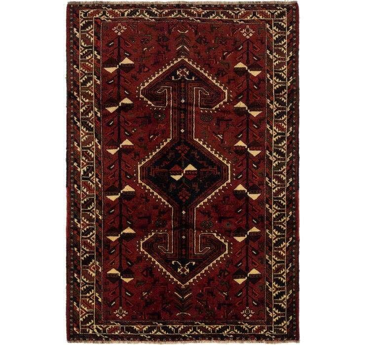 6' x 8' 8 Ghashghaei Persian Rug