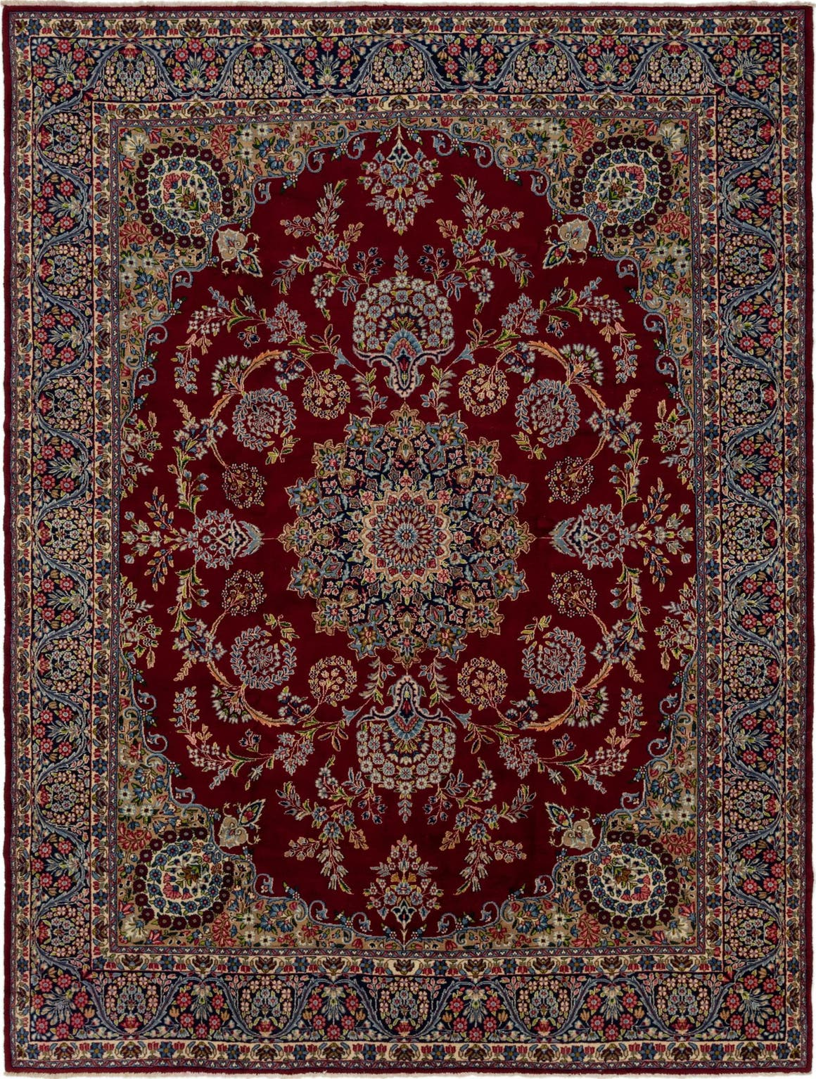 9' 8 x 12' 10 Kerman Persian Rug main image