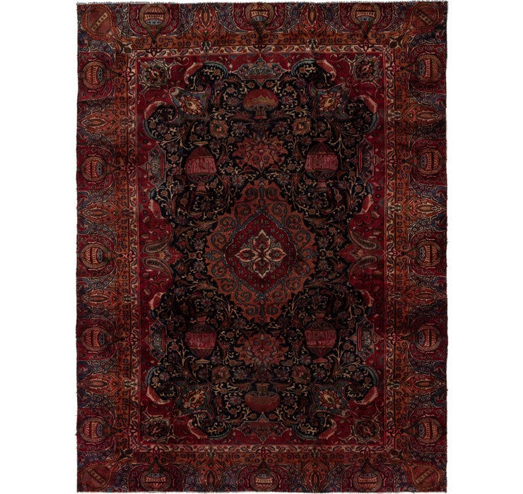 8' 10 x 12' Kashmar Persian Rug