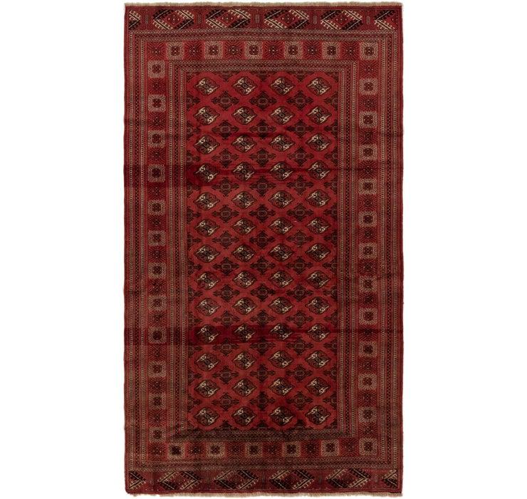 6' 10 x 12' Torkaman Persian Rug