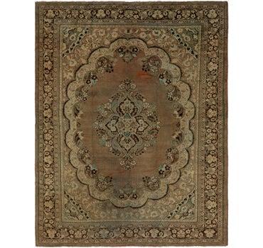 10' x 12' 5 Meshkabad Persian Rug main image