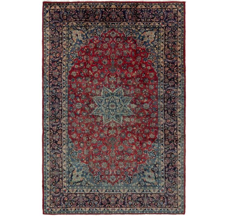 10' x 14' 5 Isfahan Persian Rug