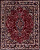 9' 6 x 11' 10 Mashad Persian Rug thumbnail