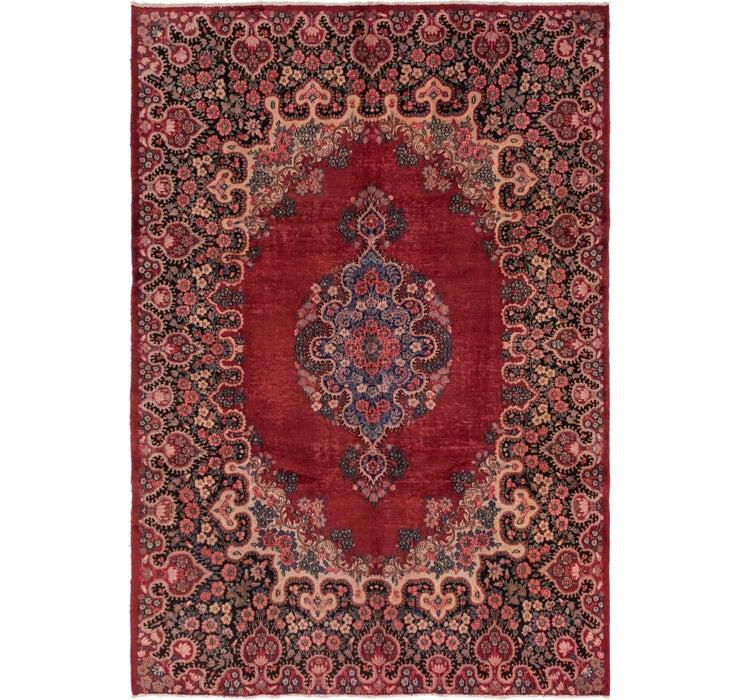 7' x 10' Kerman Persian Rug