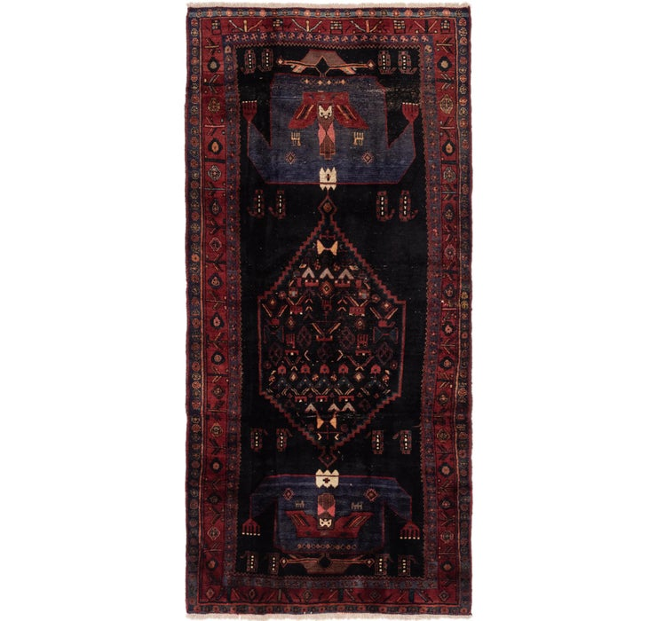 157cm x 323cm Sirjan Persian Runner Rug