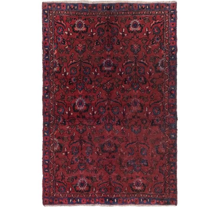 4' x 6' Mashad Persian Rug