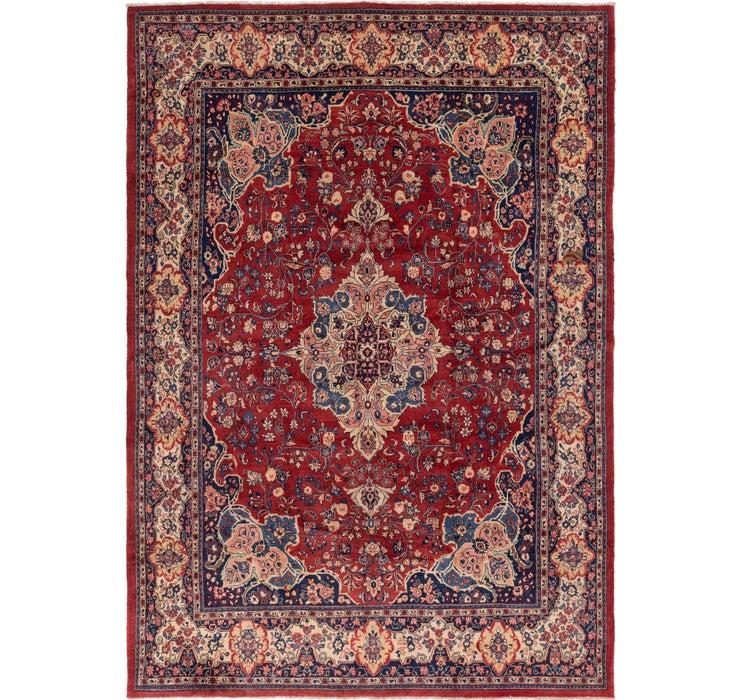 300cm x 420cm Meshkabad Persian Rug