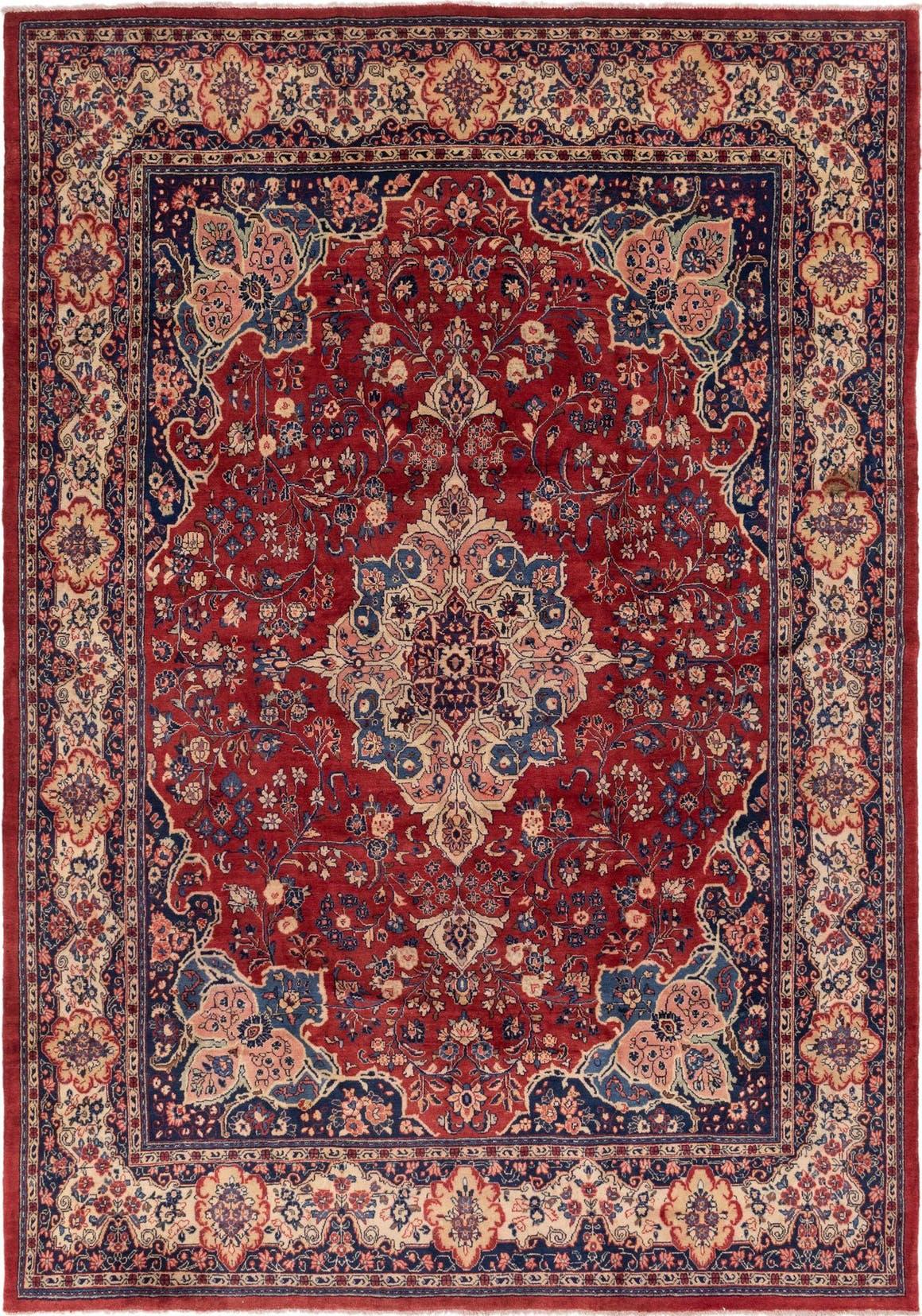 9' 10 x 13' 9 Meshkabad Persian Rug main image