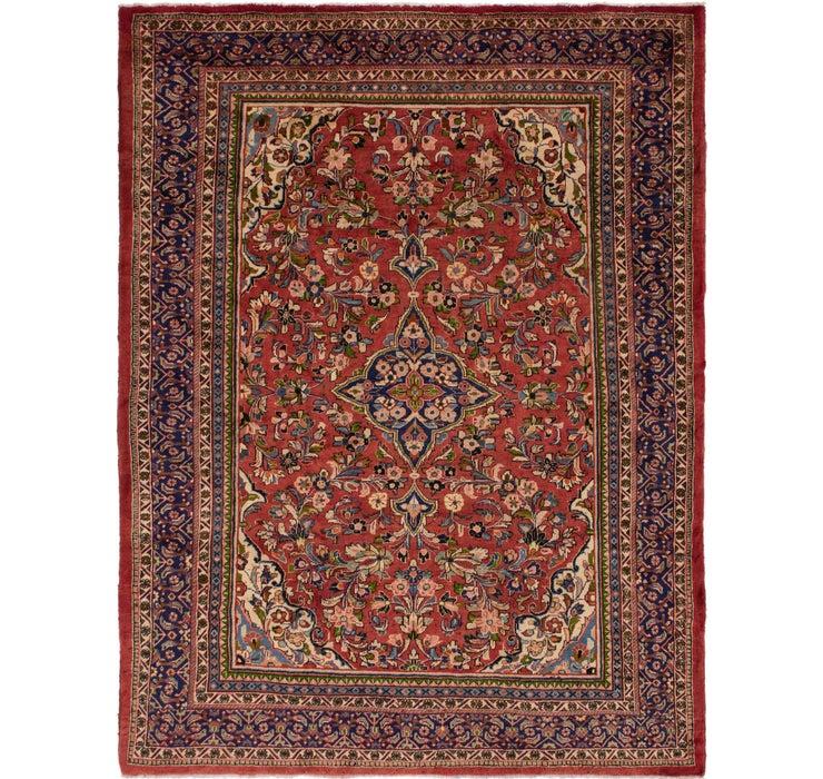 300cm x 395cm Meshkabad Persian Rug
