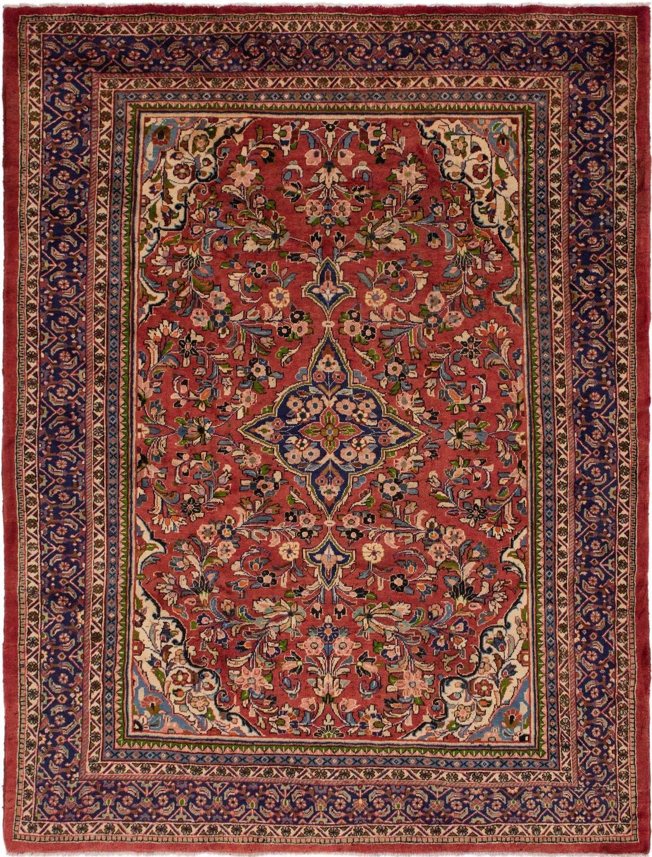 9' 10 x 13' Meshkabad Persian Rug main image