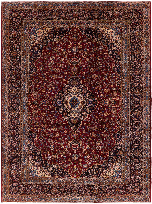 10' 2 x 13' 6 Kashan Persian Rug main image