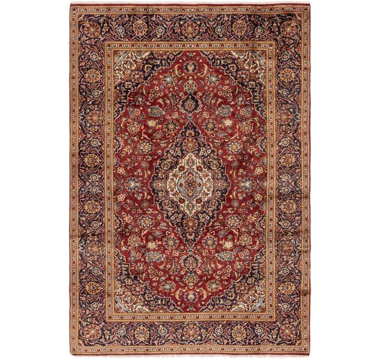 240cm x 353cm Kashan Persian Rug