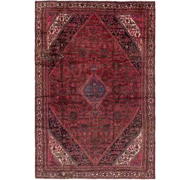 Image of 7' 8 x 11' 4 Hamedan Persian Rug