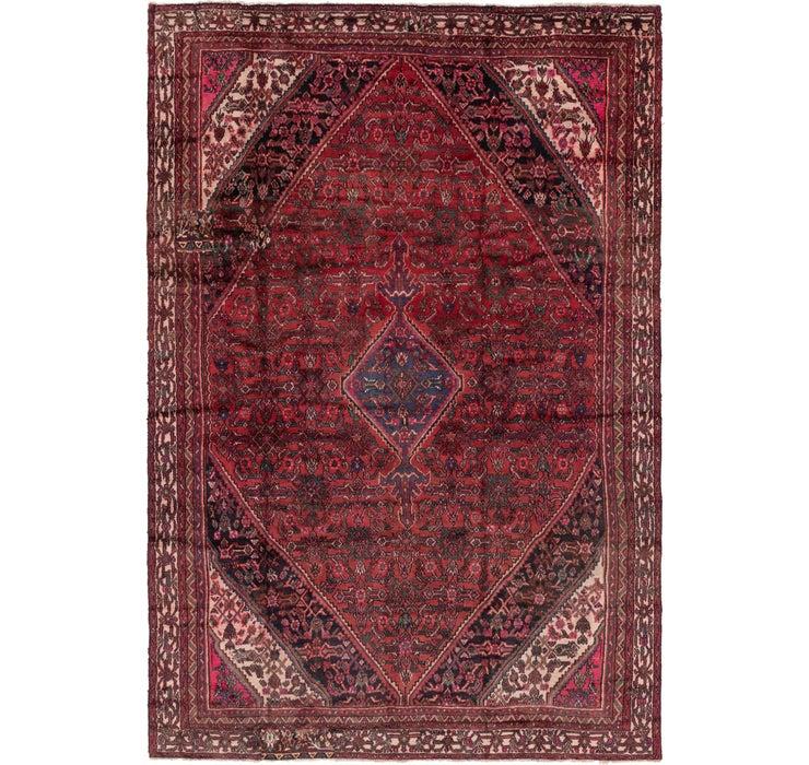 7' 8 x 11' 4 Hamedan Persian Rug