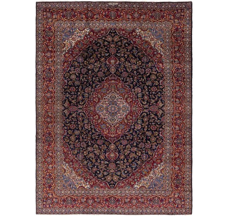 10' 2 x 13' 10 Kashan Persian Rug