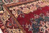 9' 9 x 10' Tabriz Persian Square Rug thumbnail