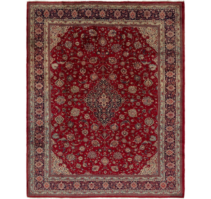 315cm x 390cm Sarough Persian Rug