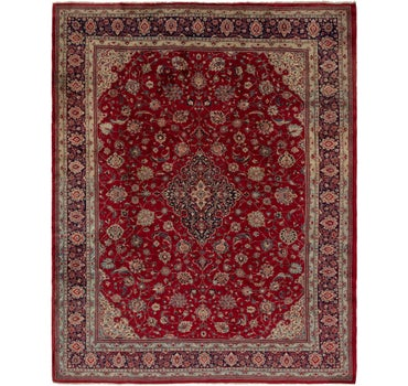 10' 4 x 12' 9 Sarough Persian Rug main image