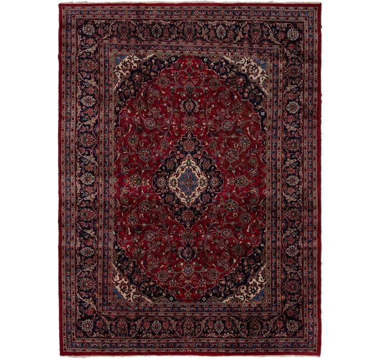 8' 2 x 10' 9 Mashad Persian Rug