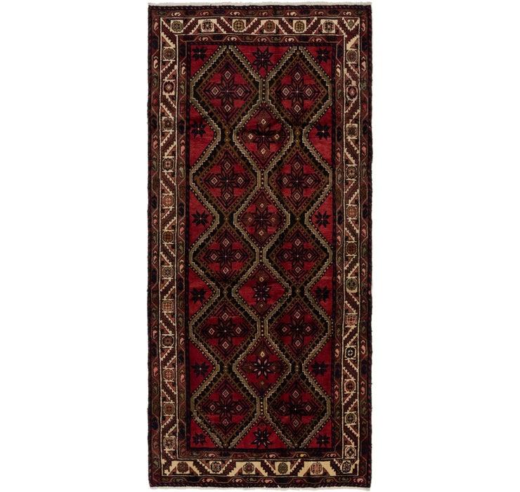 142cm x 310cm Chenar Persian Runner Rug