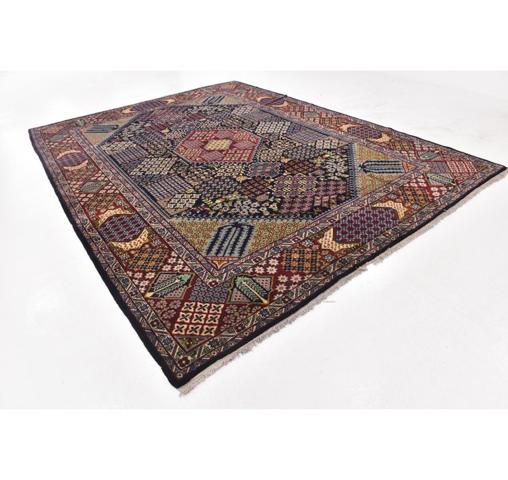 10' 2 x 13' 8 Isfahan Persian Rug