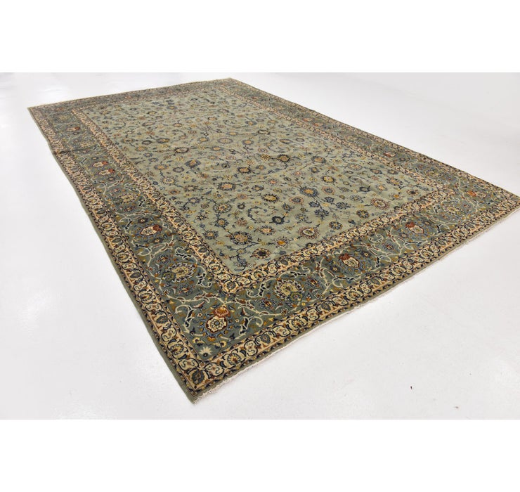 9' 10 x 15' Kashan Persian Rug