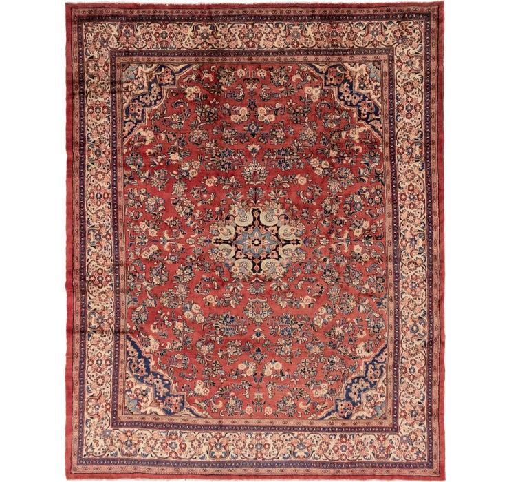 Image of 328cm x 415cm Meshkabad Persian Rug