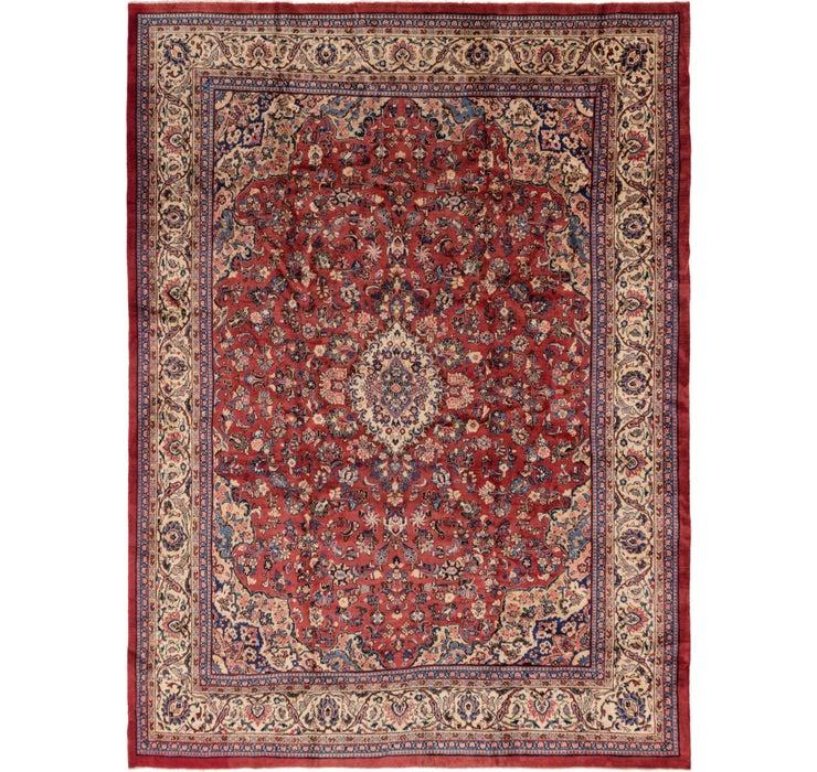 318cm x 427cm Meshkabad Persian Rug