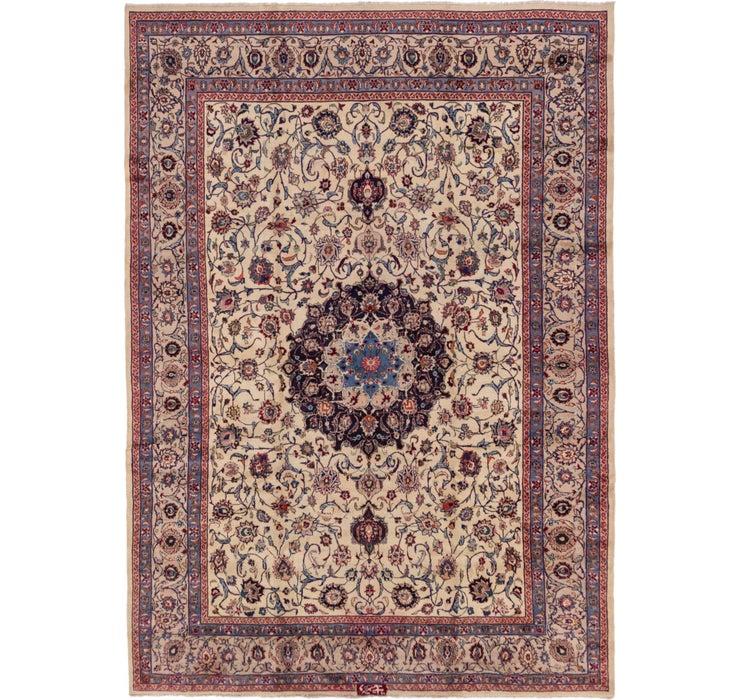 9' 4 x 13' 2 Mashad Persian Rug