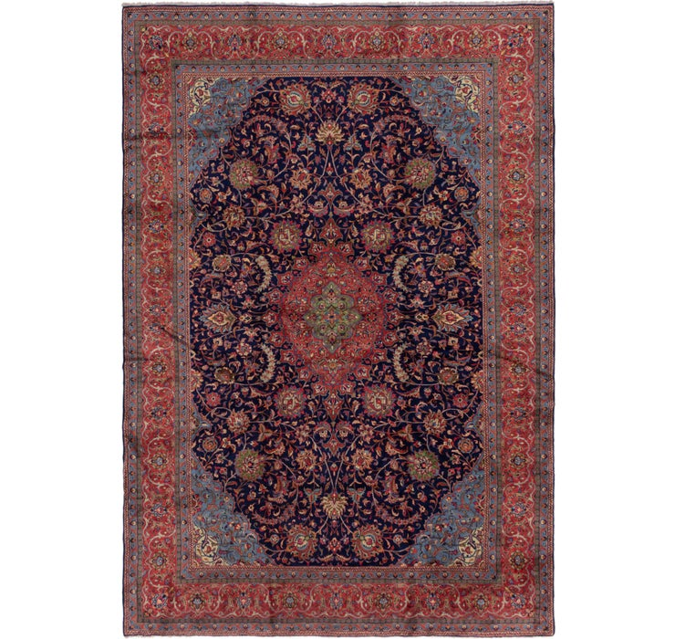 9' 9 x 14' 4 Sarough Persian Rug