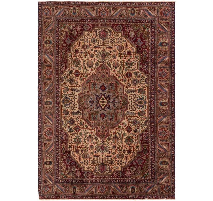 235cm x 340cm Tabriz Persian Rug