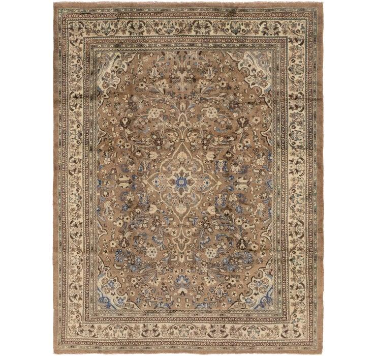 297cm x 395cm Meshkabad Persian Rug