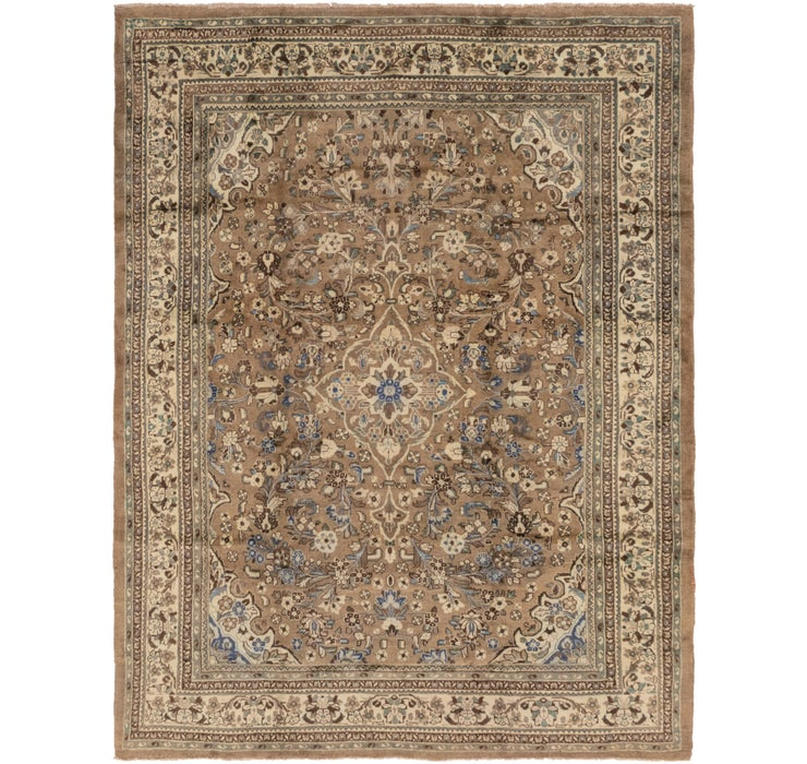 9' 9 x 13' Meshkabad Persian Rug