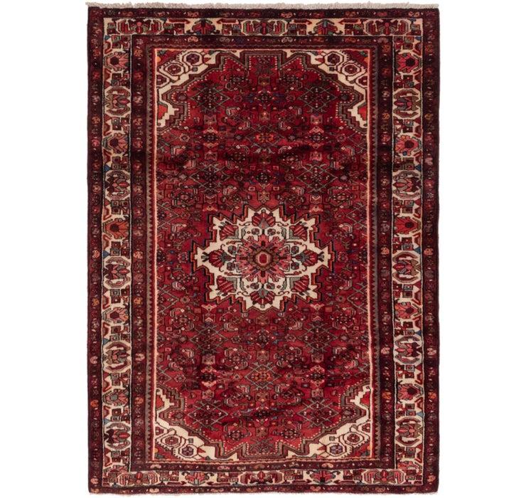 5' 4 x 7' 6 Hossainabad Persian Rug