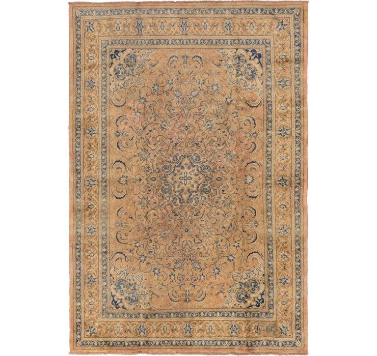 265cm x 385cm Mahal Persian Rug