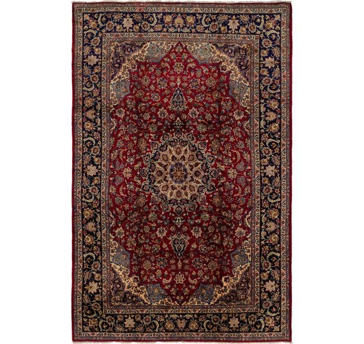 9' 2 x 14' Isfahan Persian Rug