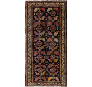 Image of 4' 10 x 9' 10 Meshkin Persian Runner ...