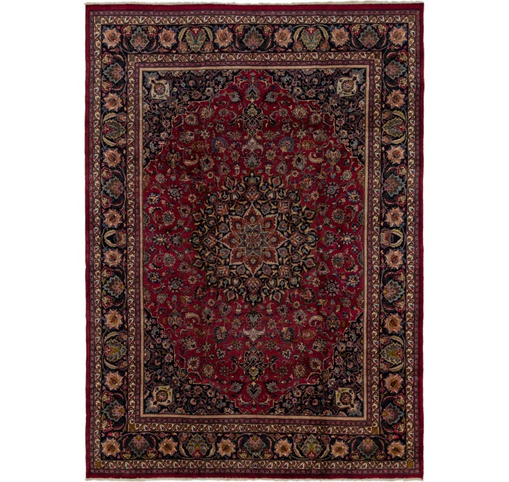 292cm x 415cm Mashad Persian Rug