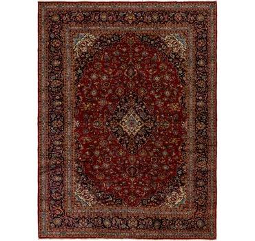 9' 9 x 12' 10 Kashan Persian Rug main image