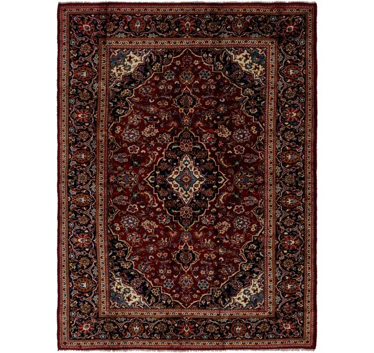 8' 2 x 10' 10 Kashan Persian Rug