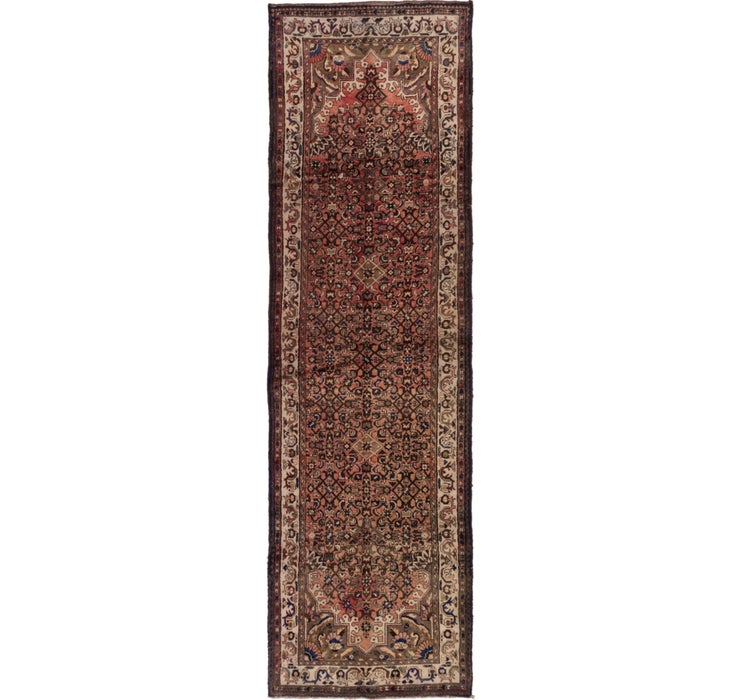 122cm x 405cm Hossainabad Persian Run...