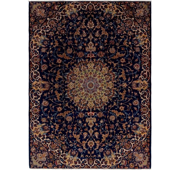 275cm x 370cm Kashan Persian Rug