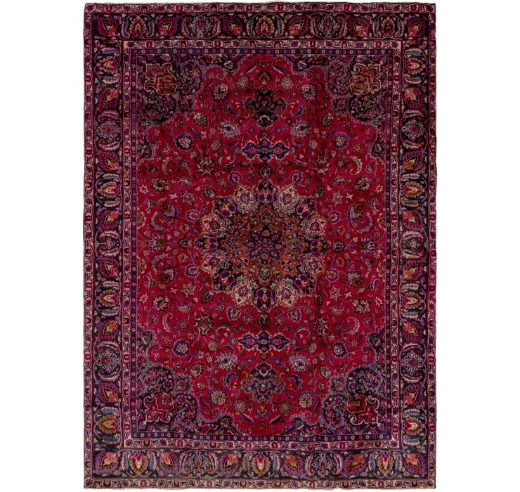 270cm x 380cm Mashad Persian Rug