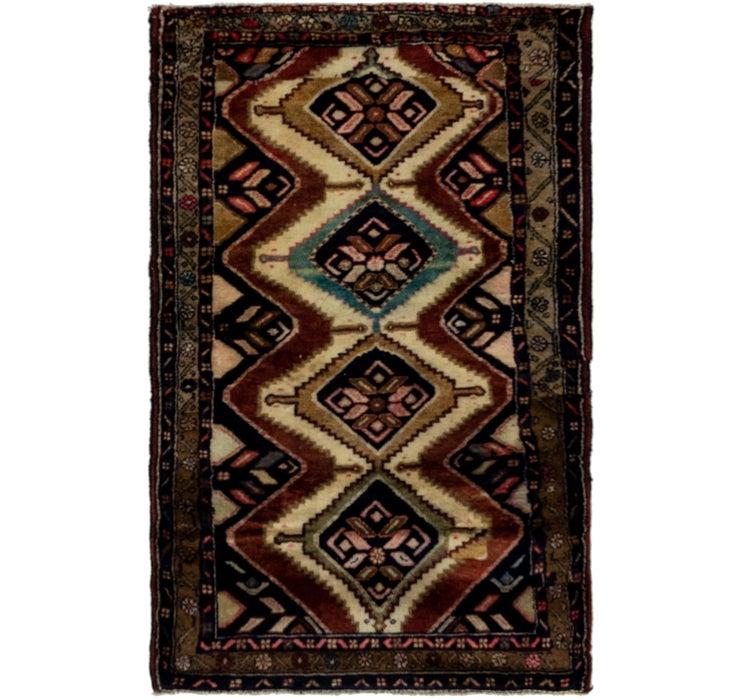 3' 4 x 5' 5 Chenar Persian Rug