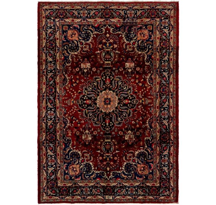 7' 2 x 10' Mashad Persian Rug
