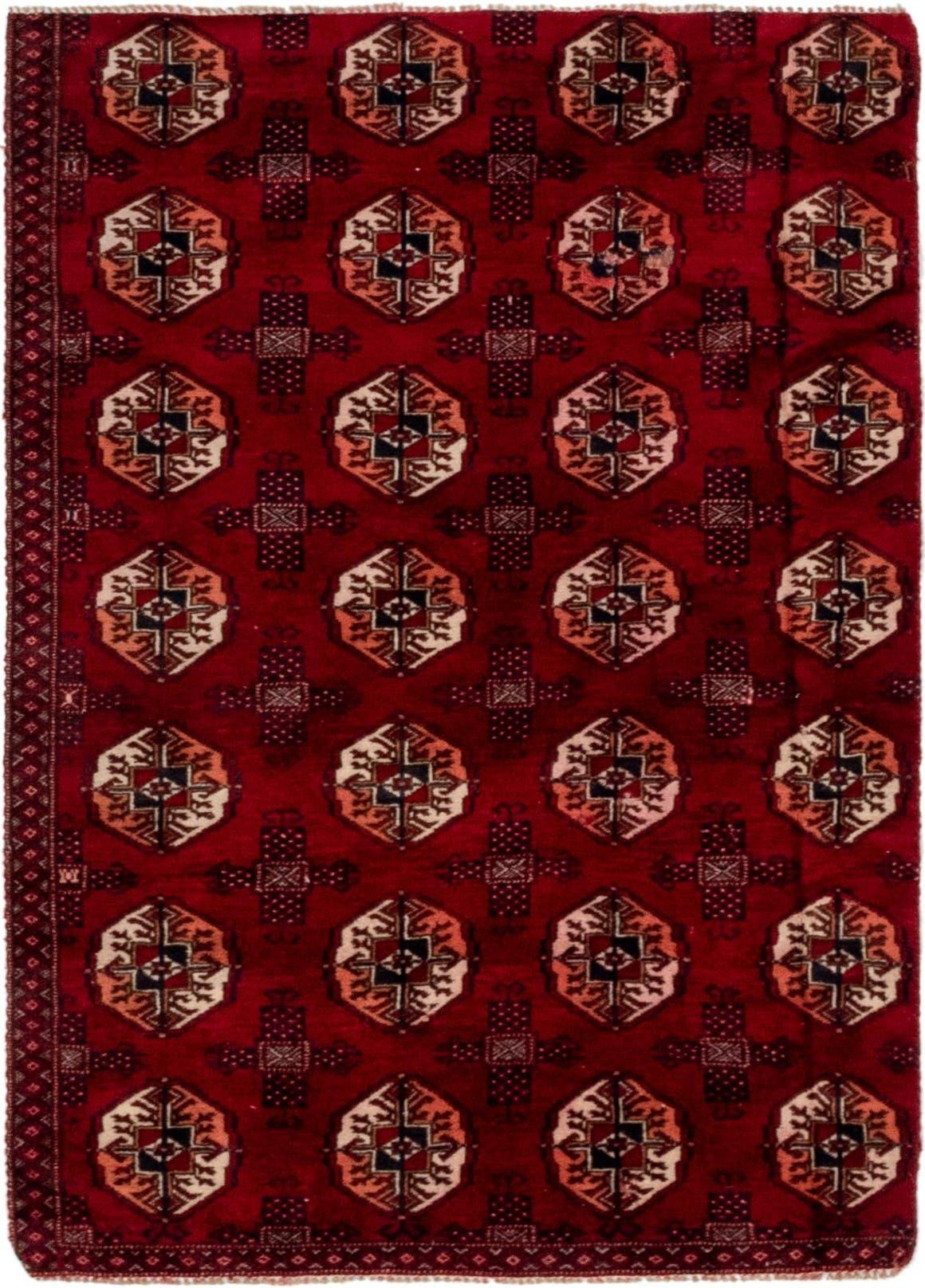 3' 2 x 4' 7 Torkaman Persian Rug main image