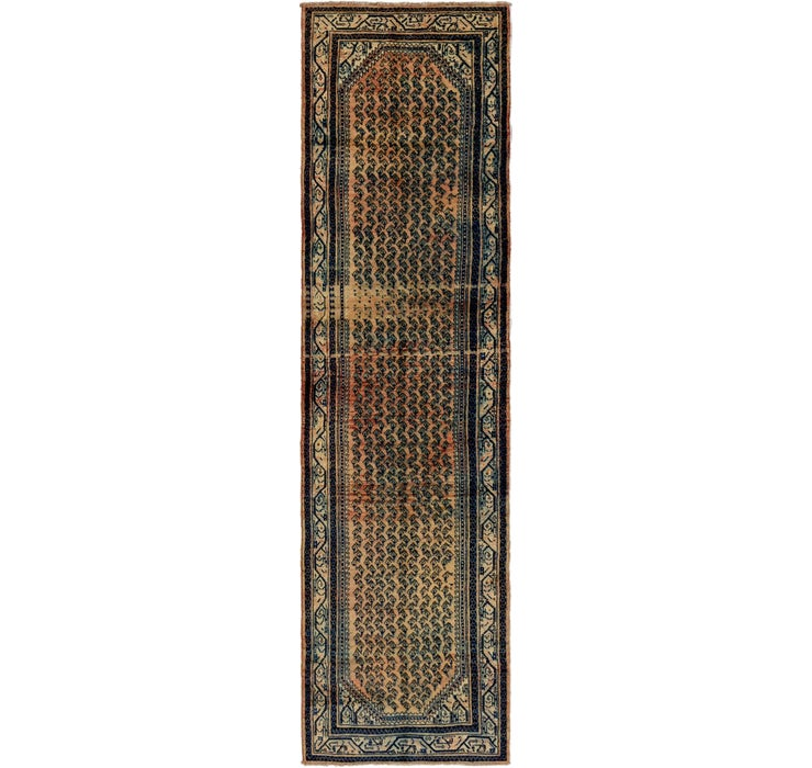 3' 8 x 14' 2 Botemir Persian Runner ...