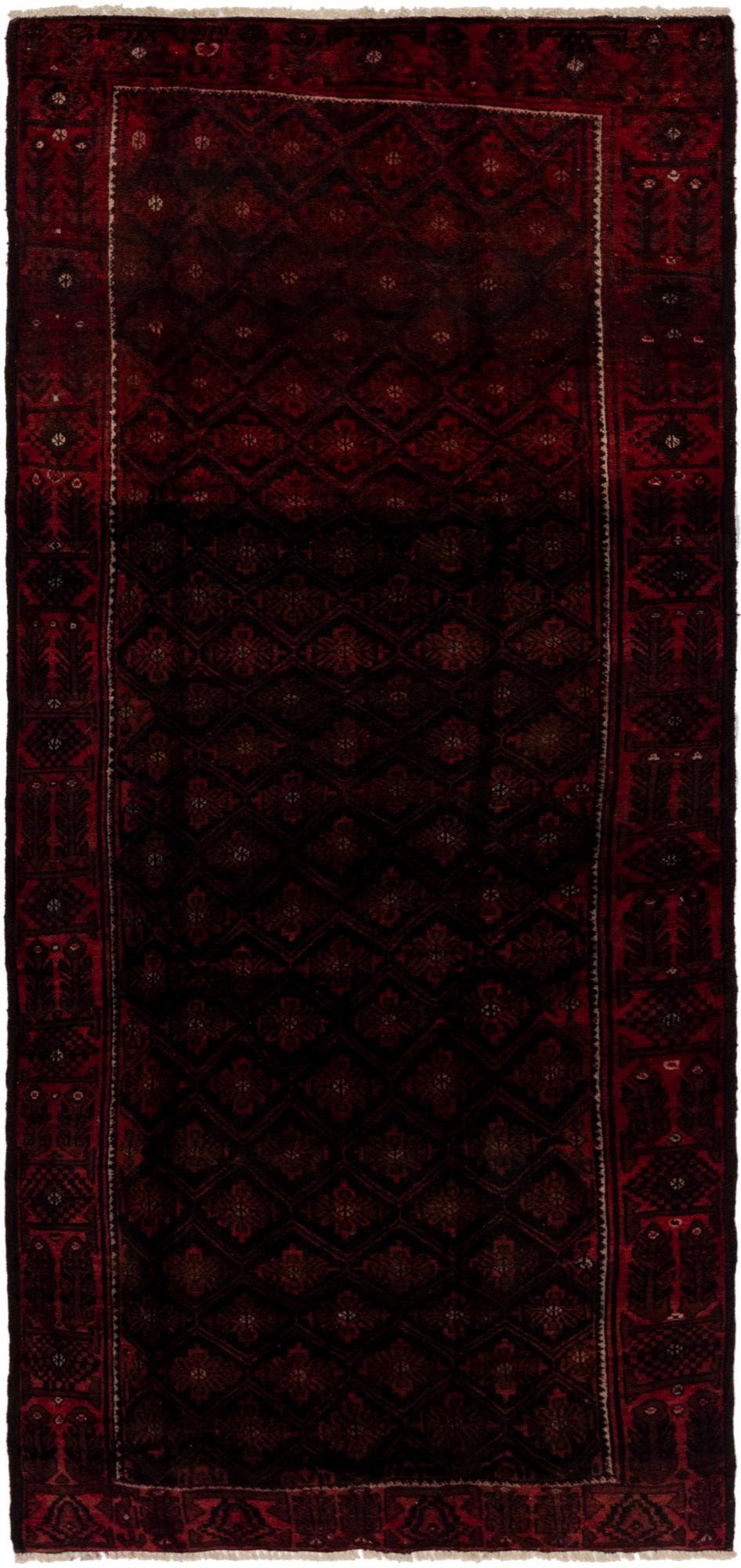 4' 6 x 10' 5 Balouch Persian Runner Rug main image