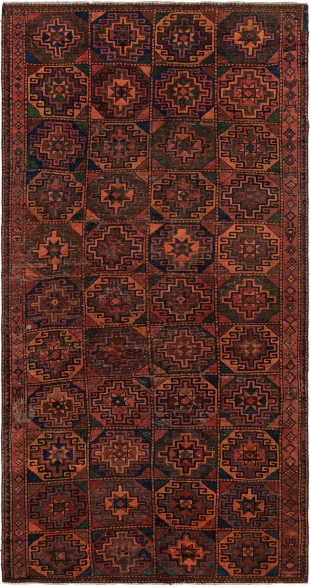 4' 9 x 9' 9 Shiraz Persian Rug main image
